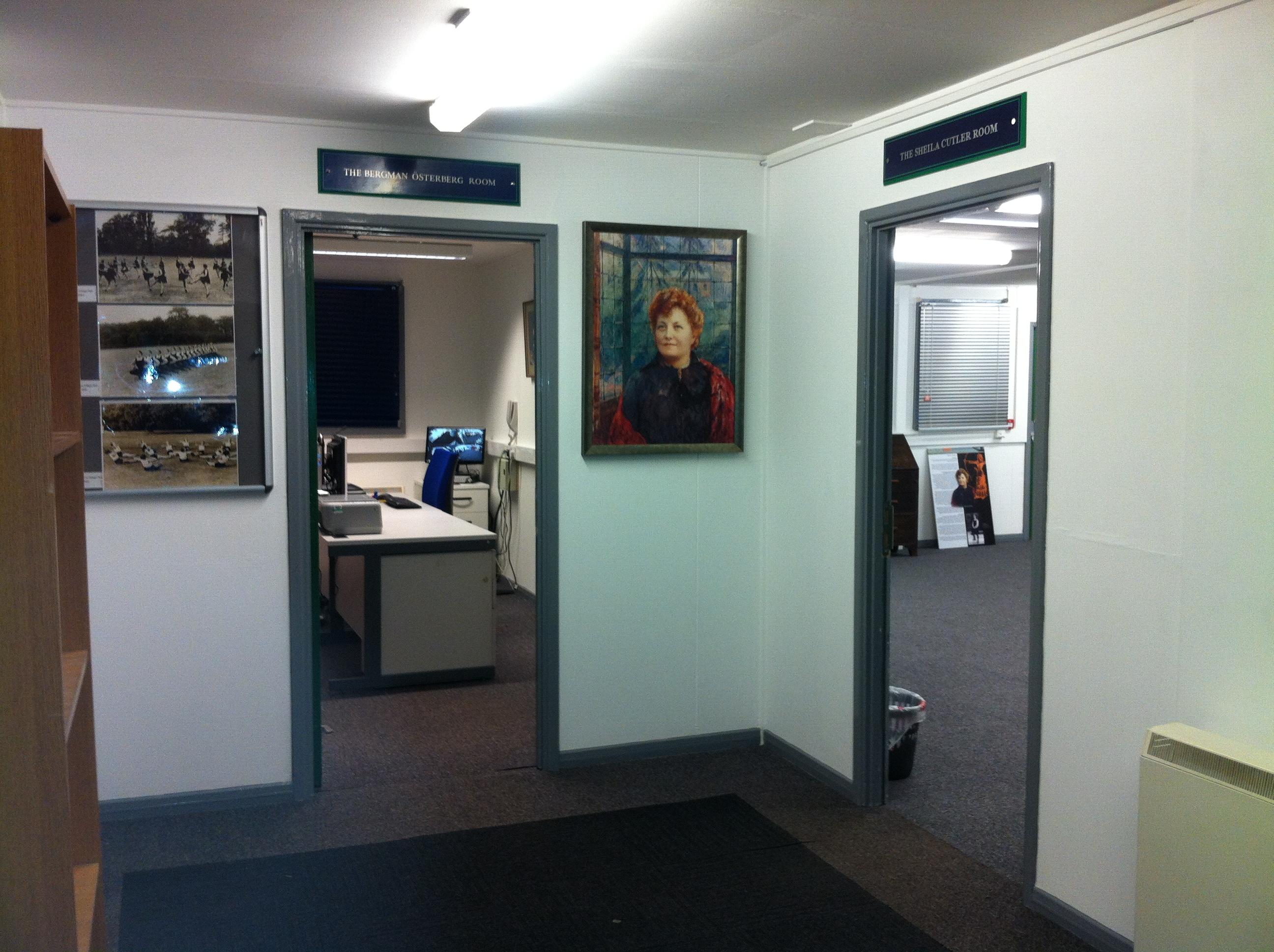 BÖU Archive lobby