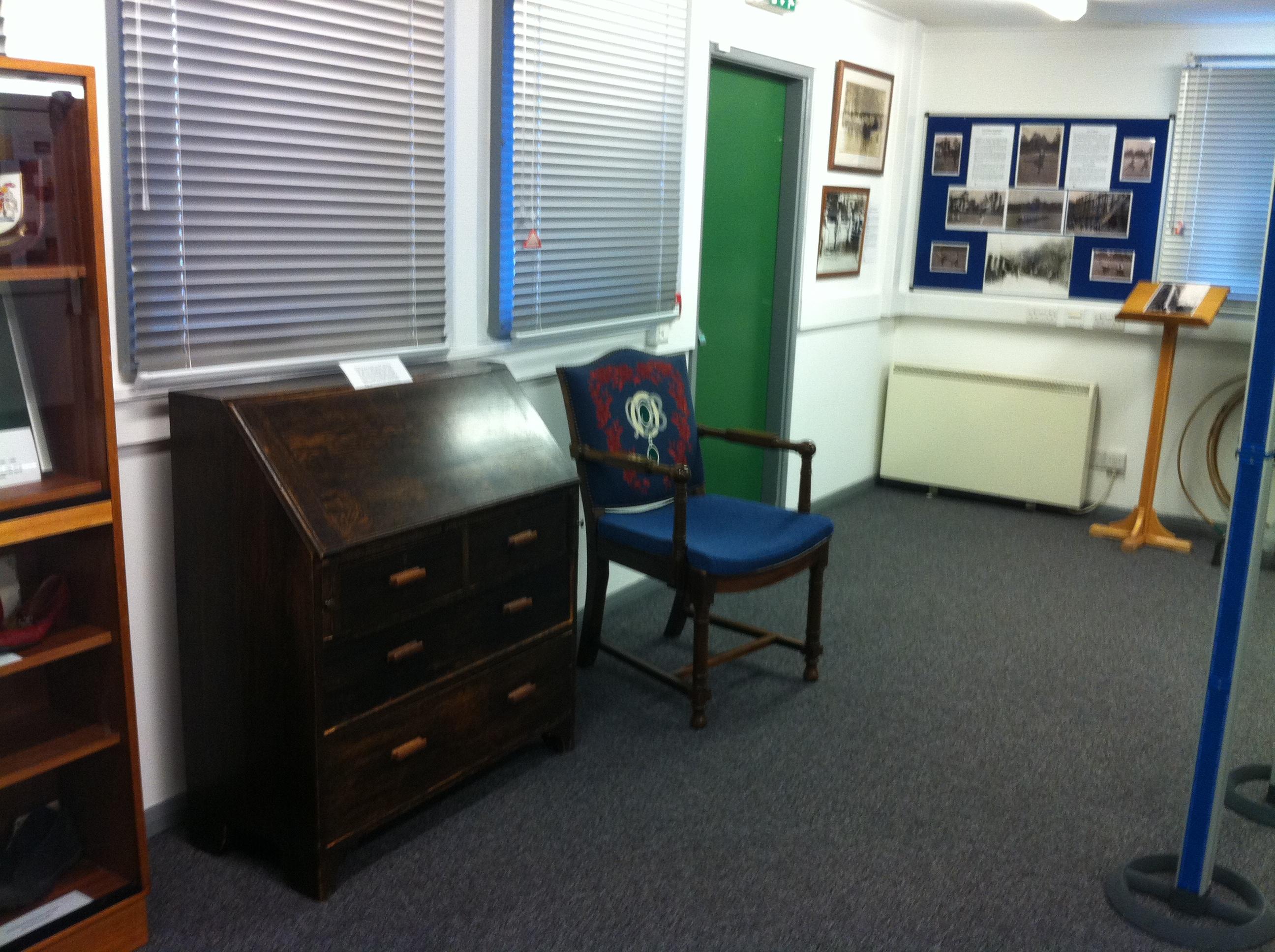 SC bureau & chair