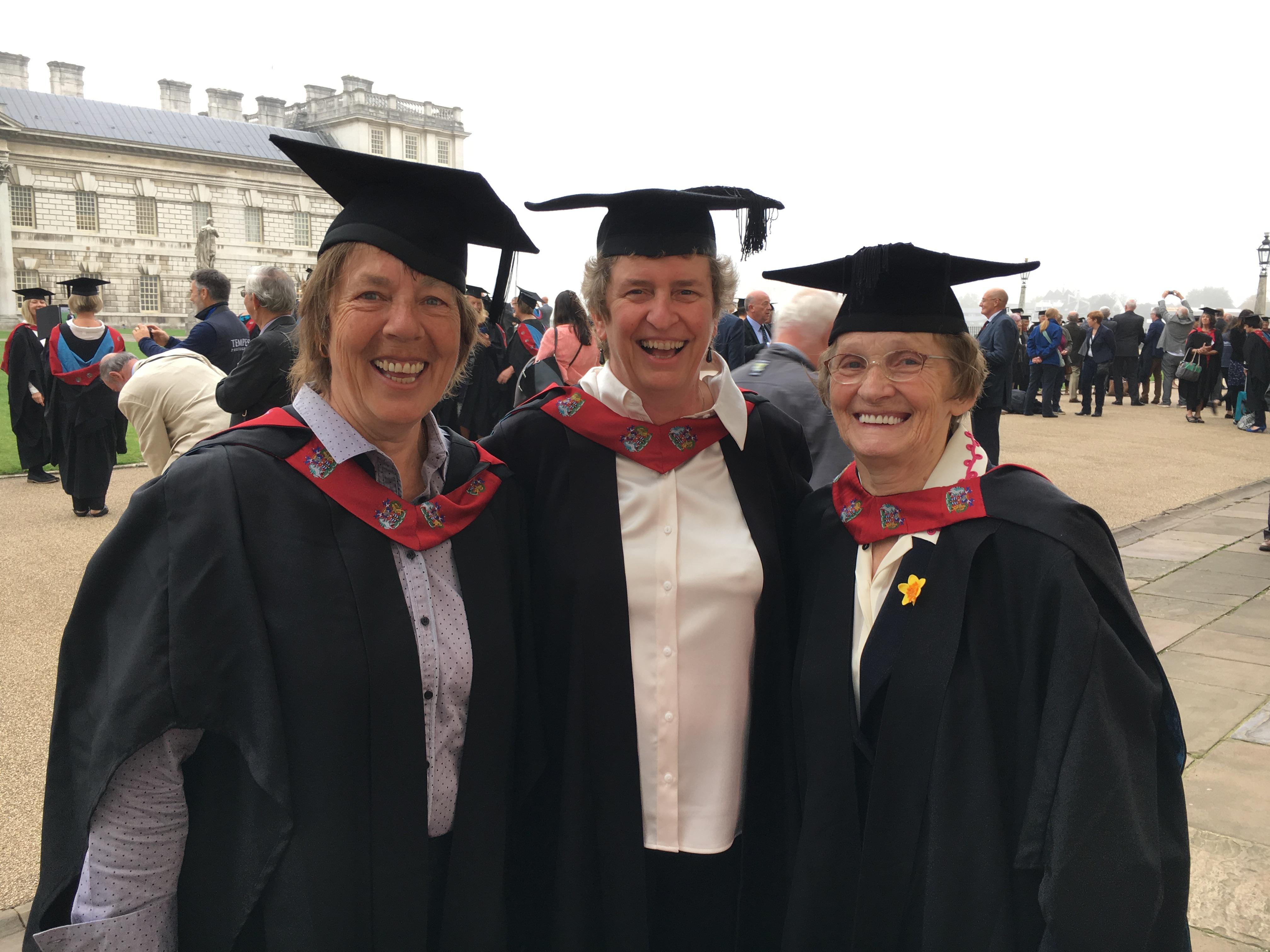 Jill Powell, Anne Stuart, Enid Bakewell