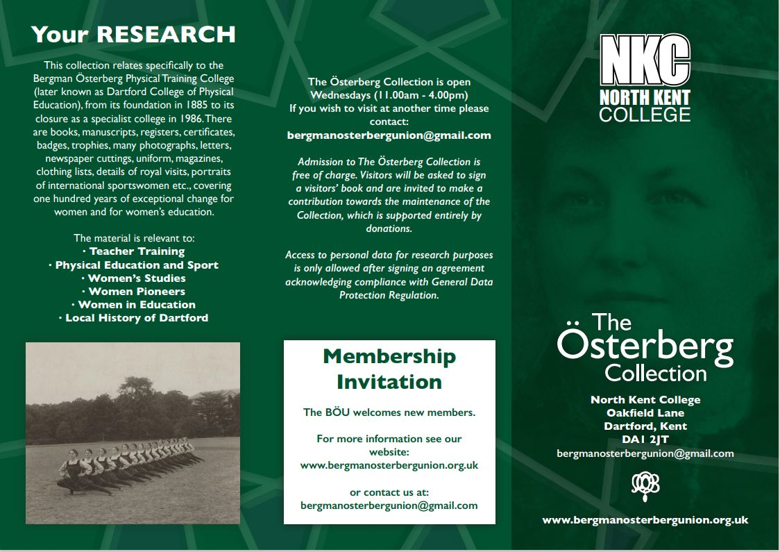 Osterberg Collection publicity flier 1